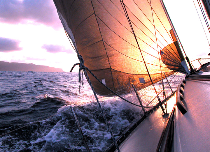 Moorea - Sunset Sail